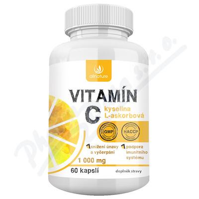 Allnature Vitamin C 1000mg 60 kapsli