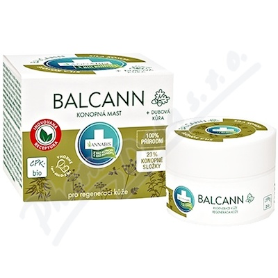 Annabis Balcann konopna mast BIO 50ml