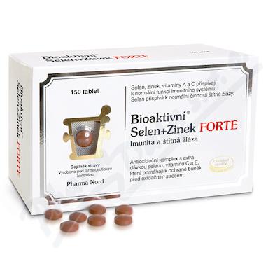 Bioaktivni Selen+Zinek FORTE tbl.150