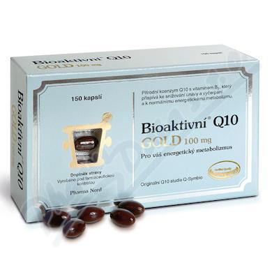 Bioaktivni Q10 Gold 100mg cps.150