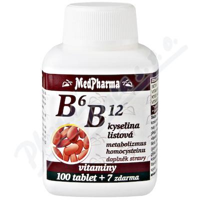 MedPh B6 B12+kysel.listová 107 tbl.