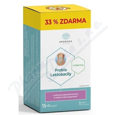 APOROSA Probio Laktobacily cps.20
