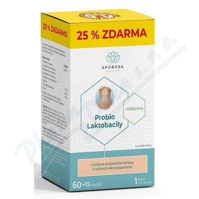 APOROSA Probio Laktobacily cps.75