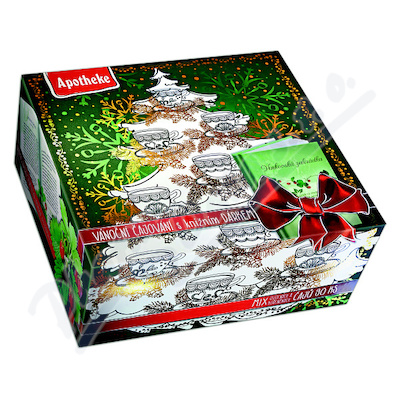 Kolekce prém.čajů vánoč+herbář90x2gAPOTH