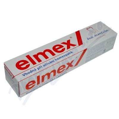 Elmex bez mentolu zub.pasta homeop.75ml