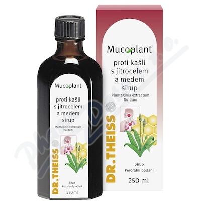 Mucoplant jitrocel a med sirup 250ml