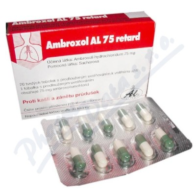Ambroxol AL 75mg ret.cps.20x75mg