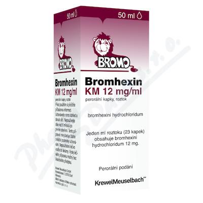 Bromhexin 8 KM gtt.1x50ml 8mg/ml