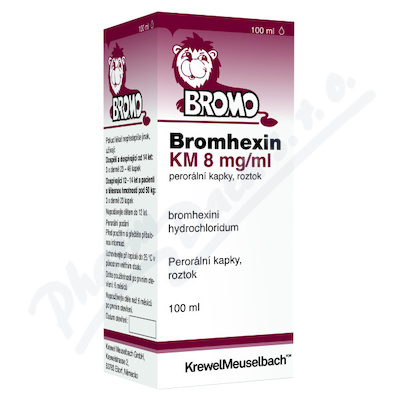 Bromhexin 8 KM gtt.1x100ml 8mg/ml