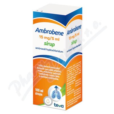Ambrobene sir.100ml 15mg/5ml