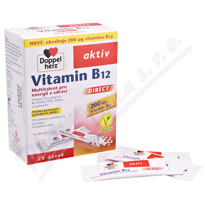 Doppel Herz Vitamin B12 Direct 20 sacku