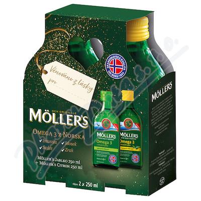 Mollers Omega 3 cit+jab.dark.bal.2x250ml