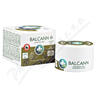 Annabis Balcann konopna mast BIO 15ml