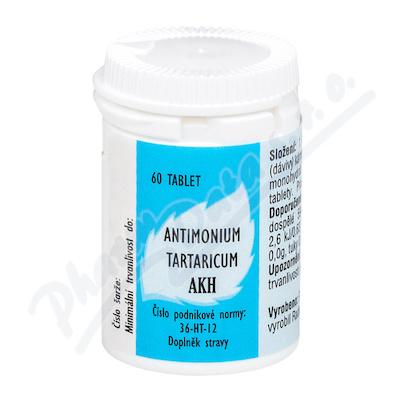 AKH Antimonium tartaricum 60 tbl.