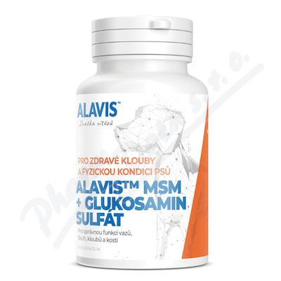 Alavis MSM+Glukosamin sulf.psy tbl.60