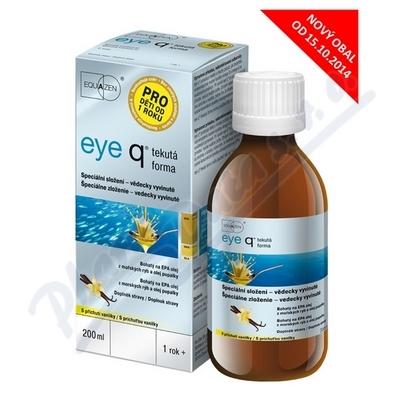 eye q tekutá forma 200ml vanilka