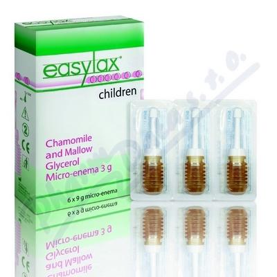 EASYLAX - dětské projímadlo 6x3g