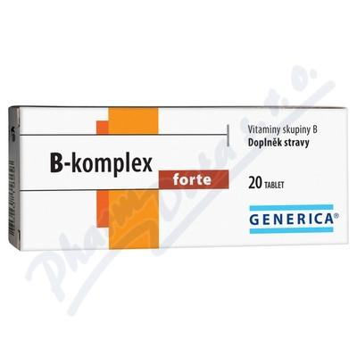B-komplex forte tbl.20 Generica