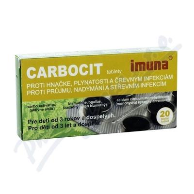 Carbocit tbl.20 - blistr
