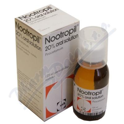 Nootropil 20% oral sol.1x125ml/25g