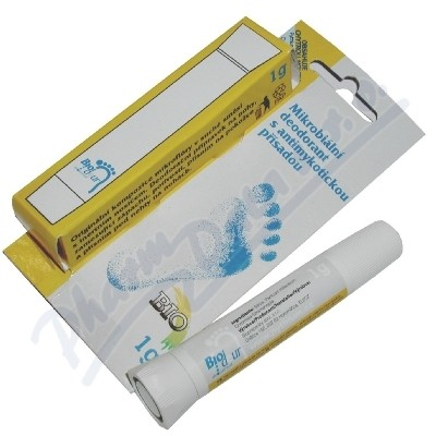 Biodeur deodorant 1g-plísně,pocení nohou