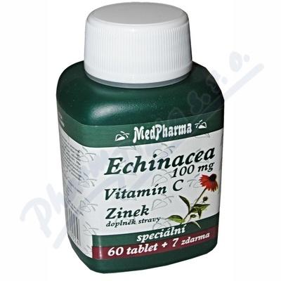 MedPh Echinacea 100mg+vit.C+Zn 67tbl.