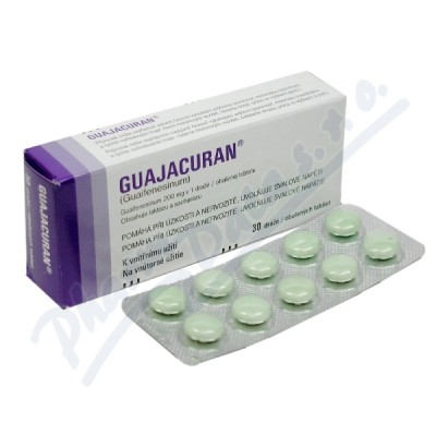 Guajacuran drg.30x200mg-blistr