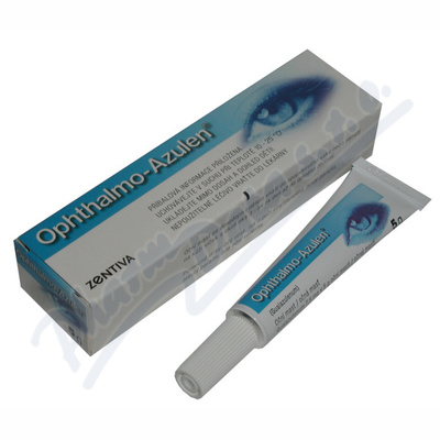 Ophthalmo azulen ung.opht.1x5g/7.5mg