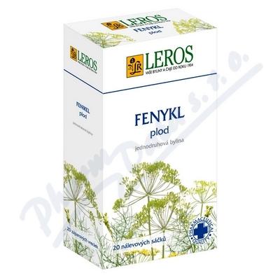 LEROS Fenyklovy caj 20x1.5g n.s.