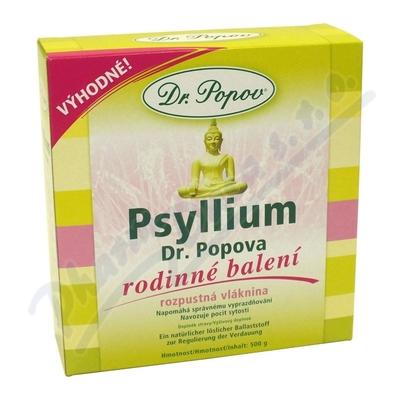 Dr.Popov Psyllium indic. rozp. vlák.500g