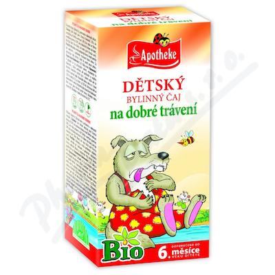 Čaj Bio Dětský trávení 20x1.5g APOTHE
