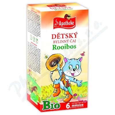 Čaj Bio Dětský Rooibos 20x1.5g APOTHEKE