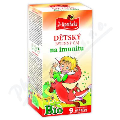 Čaj Bio Dětský imunita 20x1.5g n.s.APOTH