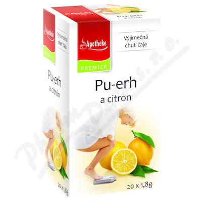 Čaj Pu-erh a citron  20x1.8g n.s.Apothek