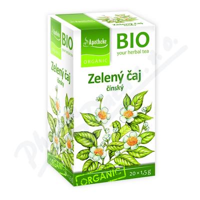 Čaj BIO Zelený 20x1.5g Apotheke