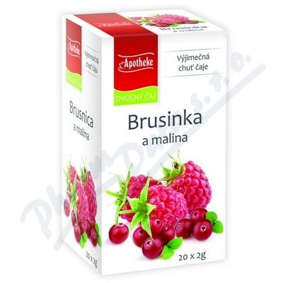 Čaj Brusinka a malin.20x2g n.s.APOTHEKE