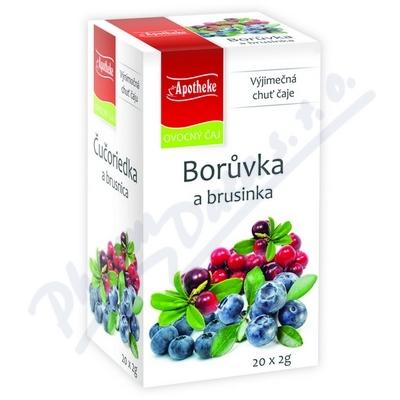 Čaj Borůvka a brusin.20x2g n.s.APOTHEKE