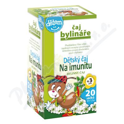 Čaj Bylináře Dětský na imunitu 20x1.5g