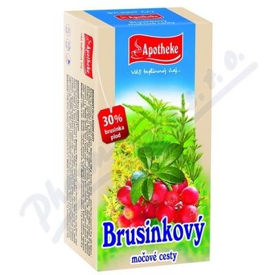 Čaj Brusinkový 20x1.5g APOTHEKE