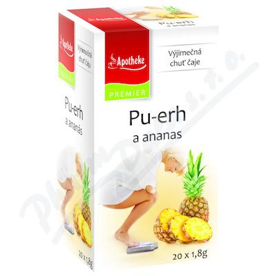 Čaj Pu-erh a ananas 20x1.8g n.s.APOTHEKE