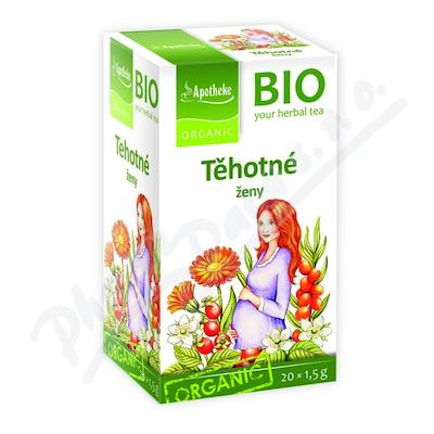 Čaj BIO Těhotné ženy 20x1.5g Apotheke