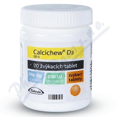Calcichew D3 20ctb.