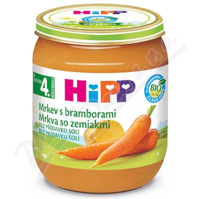 HiPP Zelenina Mrkev+brambory125g CZ4000