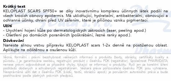 ISISPHARMA Keloplast scars krém SPF50+ 40ml