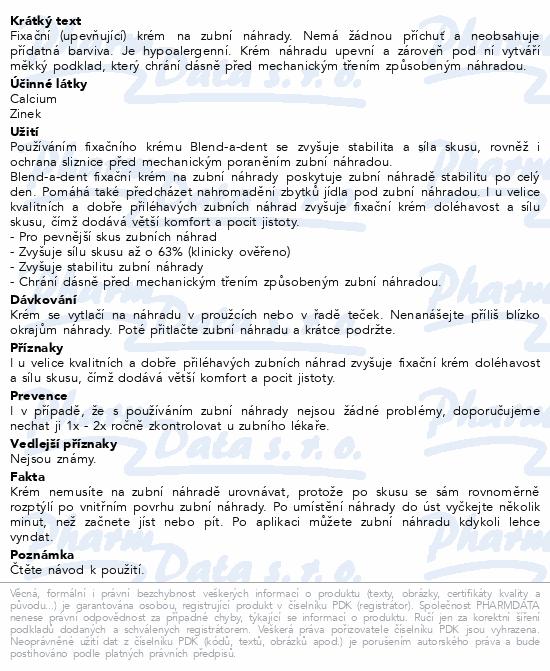 Blend-a-Dent upev.krém Original Complete 2x47g