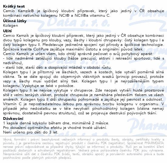 Cemio Kamzík cps.60 2020 ČR/SK