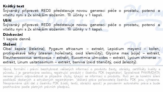 Cemio RED3 cps.90 Novinka ČR/SK