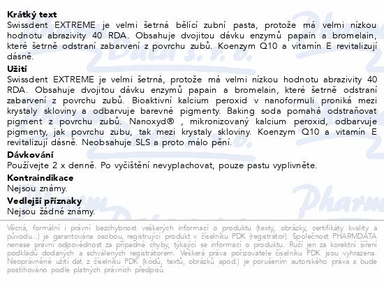 Swissdent zub. pasta Extreme bělicí 50ml 19030
