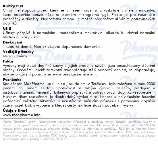 MedPharma Chrom pikolinát 200mg tob.107