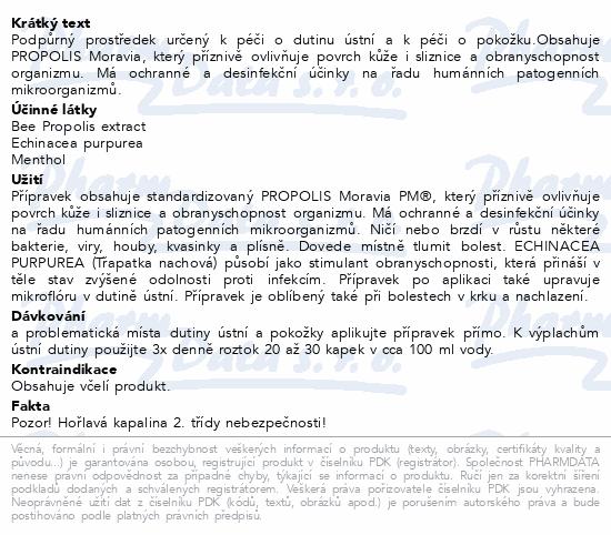 PM Propolis Echinacea extra 3% kapky 50ml